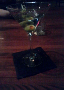 Vodka Martini, anyone?
